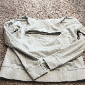 Lululemon gray turtleneck